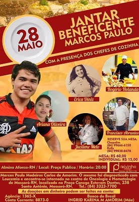 Jantar Beneficente - Marcos Paulo