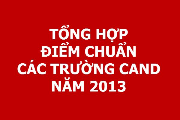 [Tổng hợp] Điểm chuẩn Tuyển sinh các trường CAND năm 2013