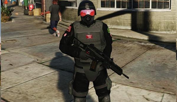 MOD  Tentara Umbrella Dari Resident Evil