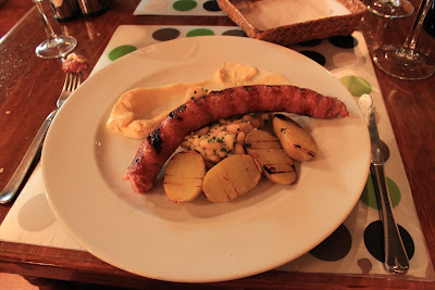 Catalan Sausage at Catalan Meal Night