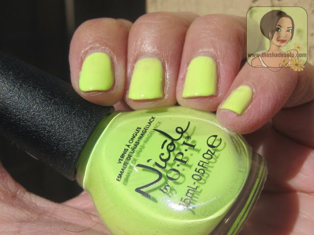 Nicole by OPI Lay It On the Lime