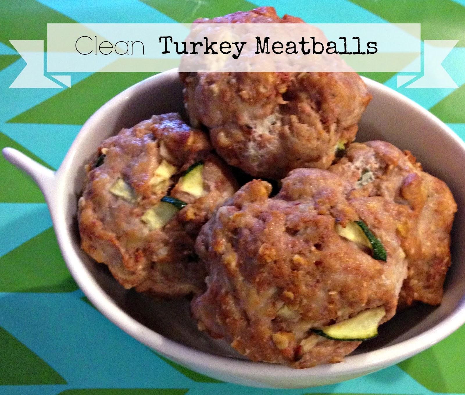 Hello Stripes: {Recipe} Clean Turkey Meatballs