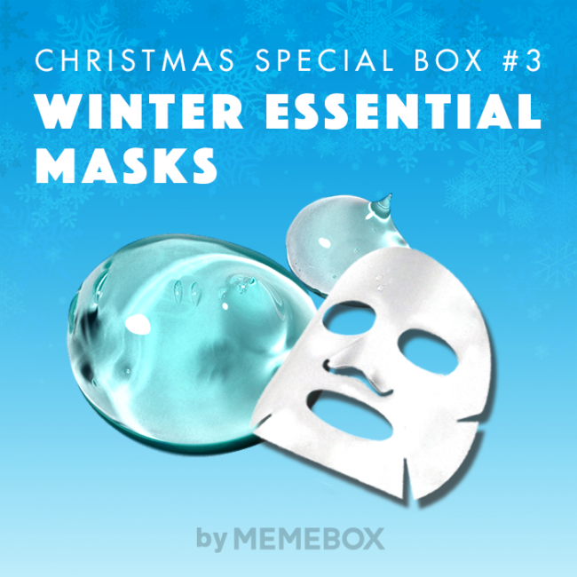 Memebox Winter Essentials Masks