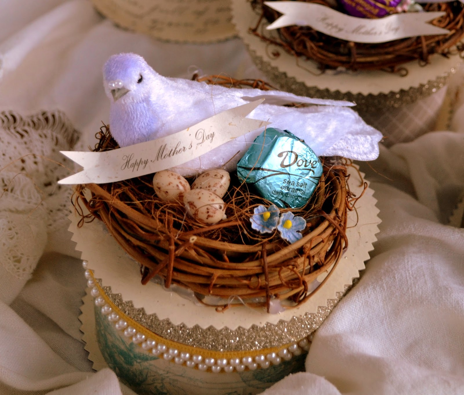 Jennuine by rook no 17 diy handmade mothers day gift dove the combination of the handmade victorian style keepsake box and dove dark chocolate makes for a one of a kind gift that is unique and as special as your negle Gallery