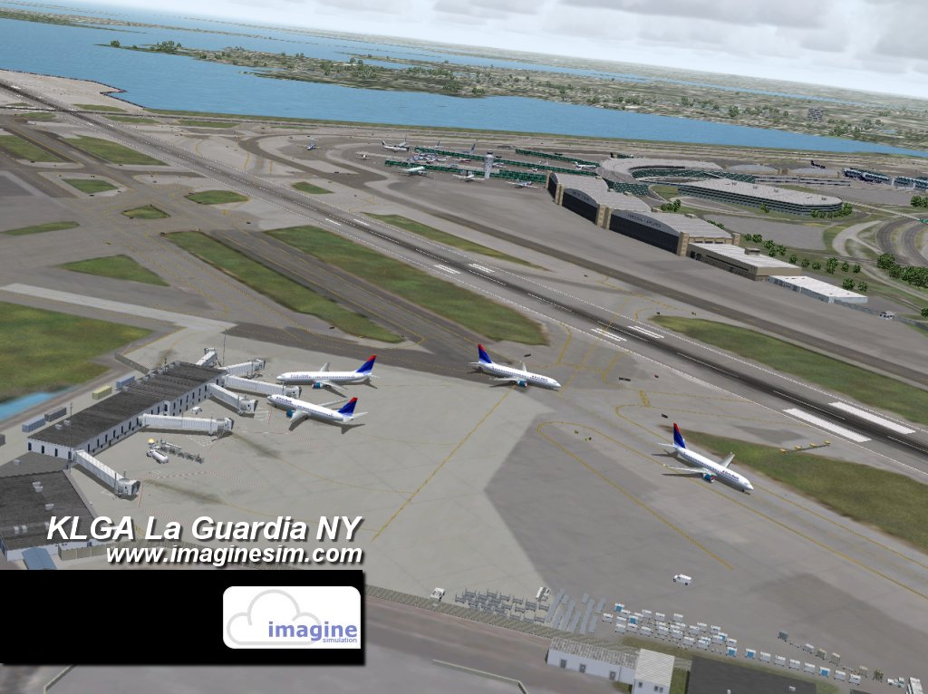 Aeroporto New York La Guardia : Fs new york la guardia klga ultramega