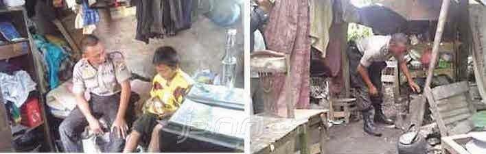 Taufiq : Polisi Sleman Yang Tinggal Di Kandang Sapi