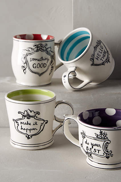 anthropologie holiday gift ideas mugs designer decorator interior design home accessories decor