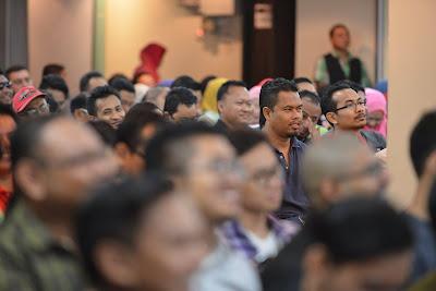 Seminar Roket Emel Najib Asaddok memang awesome!!