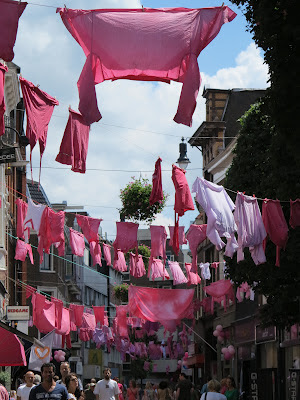 Pink Saturday, pink, Haarlem, laundry, Haafner
