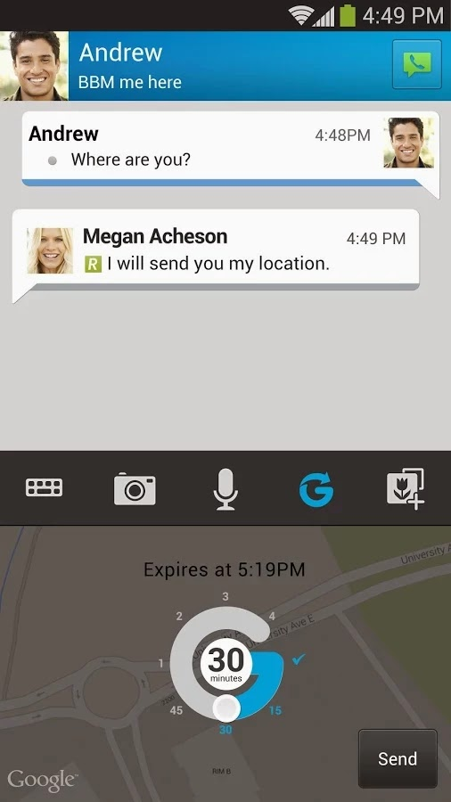 BBM v2.4.0.11 (Blackberry Messenger)