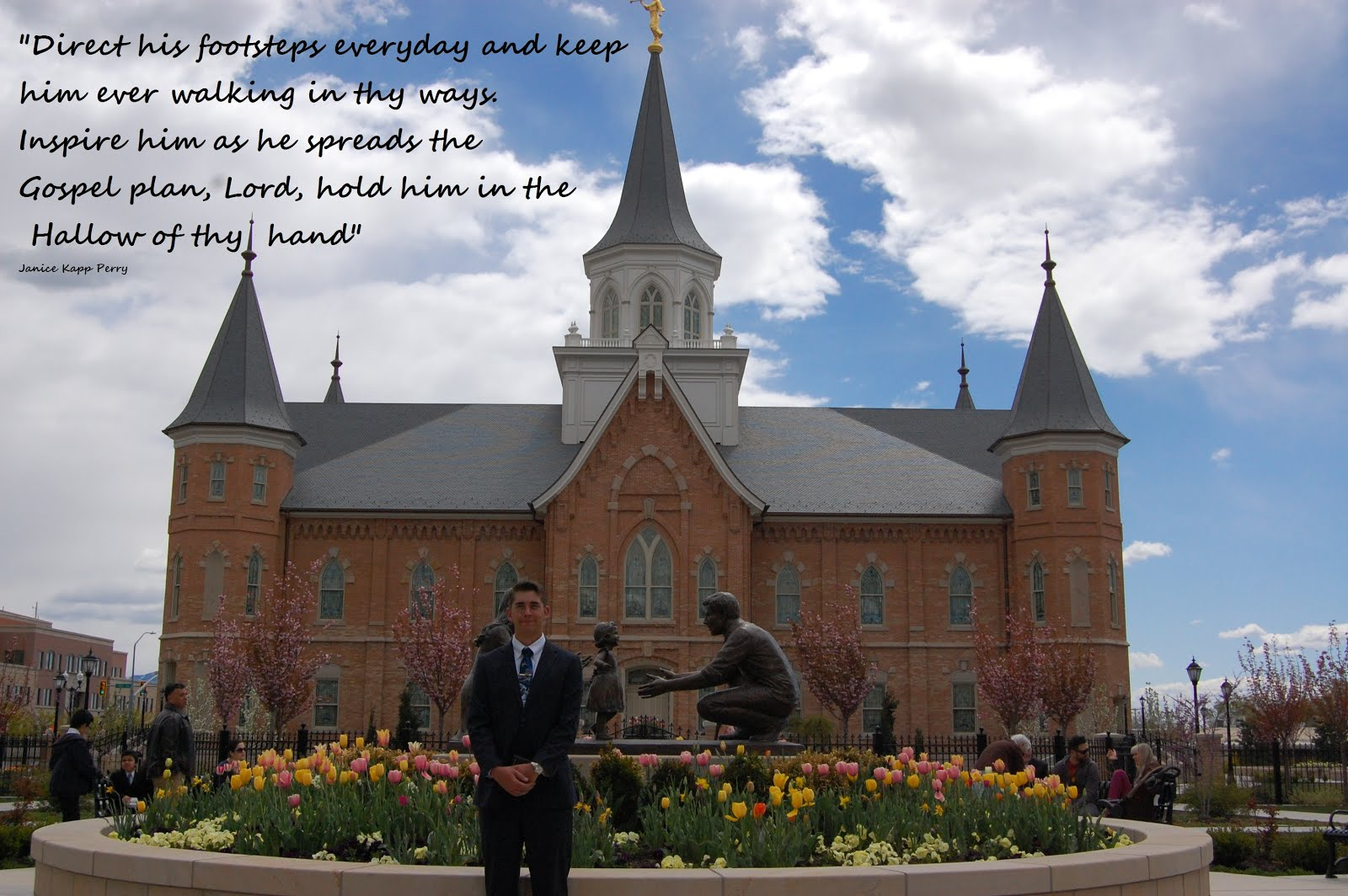 I love to see the Temple!   Provo City Center Temple. Provo, Utah U.S.A.