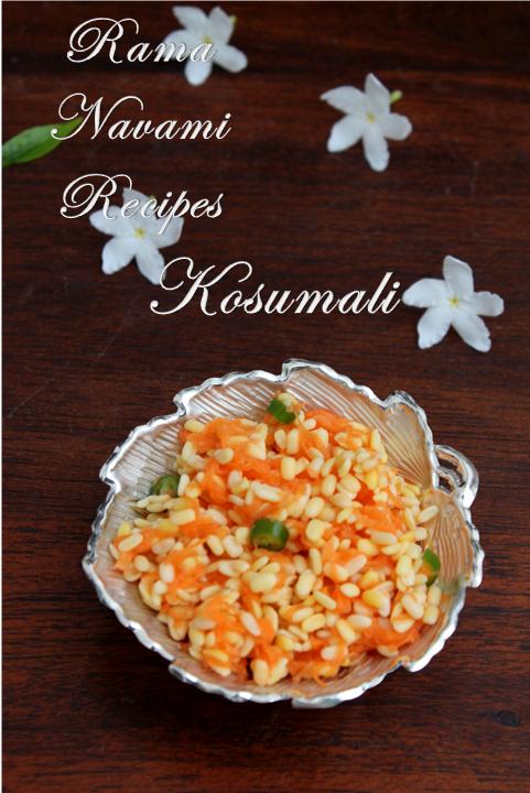 Jayas recipes kosumallirama navami recipes today being rama navamii made yellow dal kosumalli is very simple to make and there is no heating requiredyou just soak yellow dalpayatham forumfinder Images