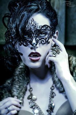 gothic vampire cosplay vampiro maschera gotica