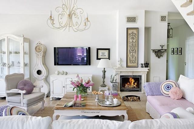 Shabby Chic Wohnzimmer 66 Romantische Einrichtungen Progo