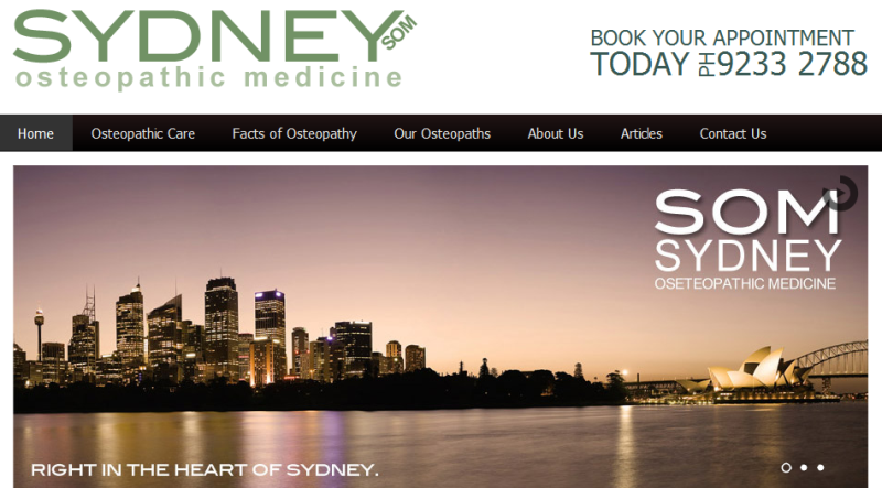 leading osteopathic centre in Sydney