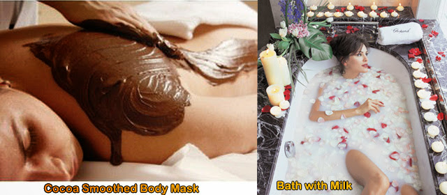 Cocoa Smoothed Body Mask, Spa pakej pengantin