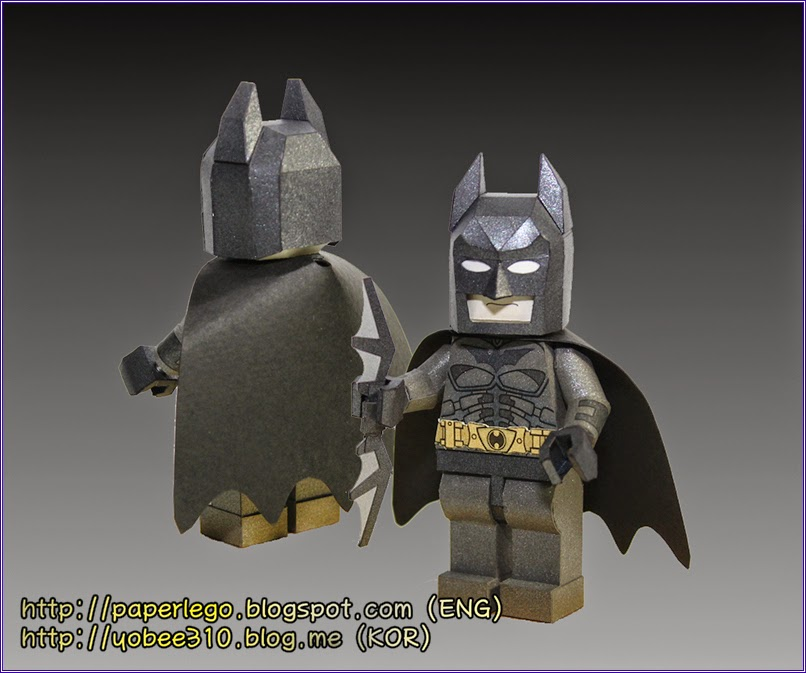Download Lego Batman Dark Knight Papercraft