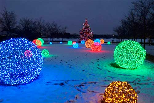 Diy Christmas Light Decorations