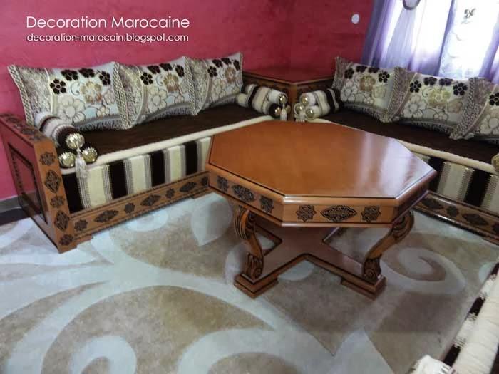 Dcoration Marocaine Moderne. Trendy Plafond Marocain With Dcoration ...