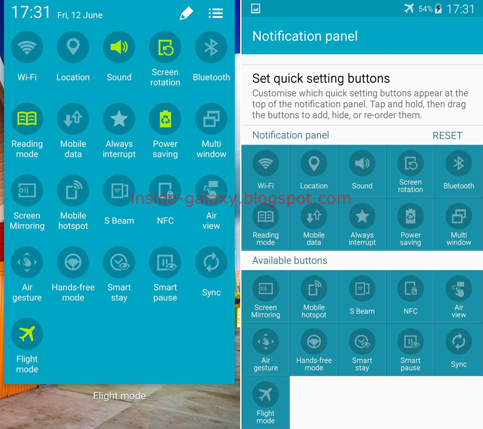 Samsung galaxy s4 how to use quick settings panel in android 501 samsung galaxy s4 how to use quick settings panel in android 501 lollipop voltagebd Gallery