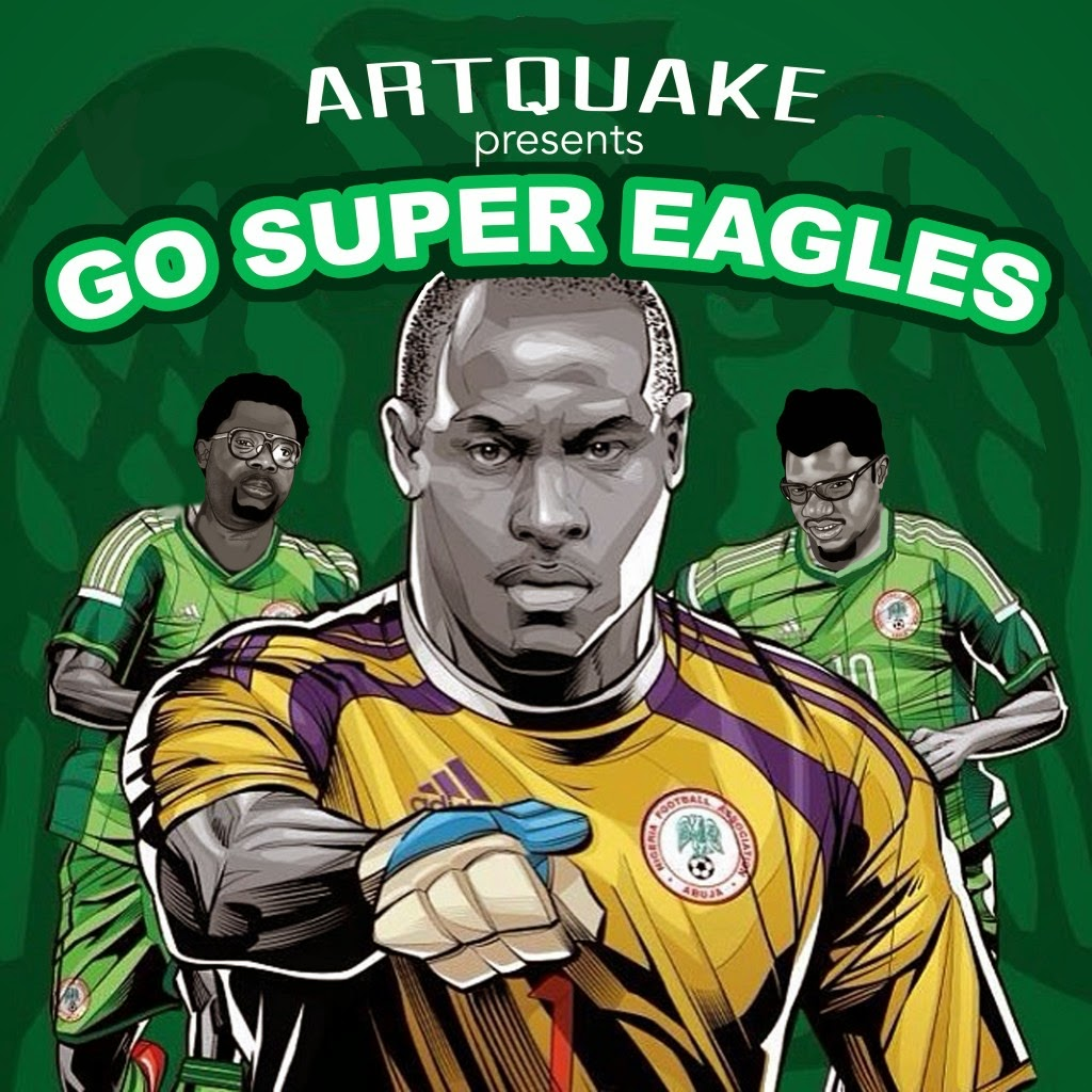 ArtQuake – Go Super Eagles