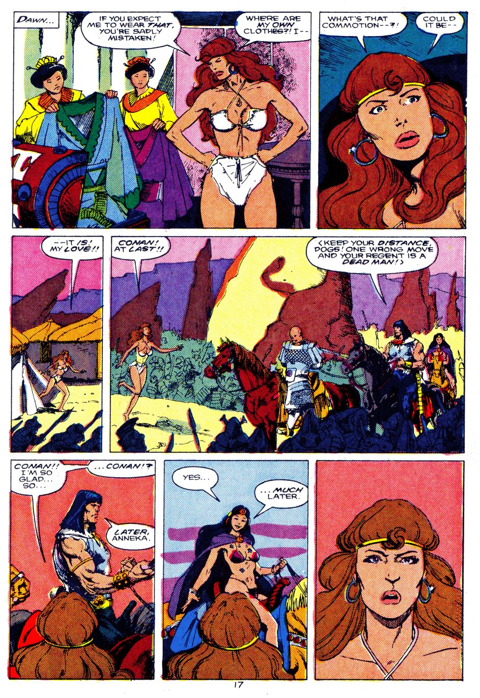 Conan the Barbarian (1970) Issue #207 #219 - English 14