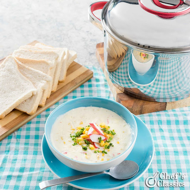 Creamy Crab and Corn Soup Recipe
