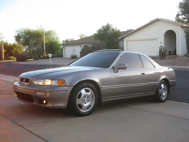 Tyson Hugie's 1994 Acura Legend Coupe front view