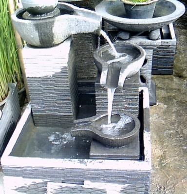 air terjun & kolam hias   tukang taman profesional