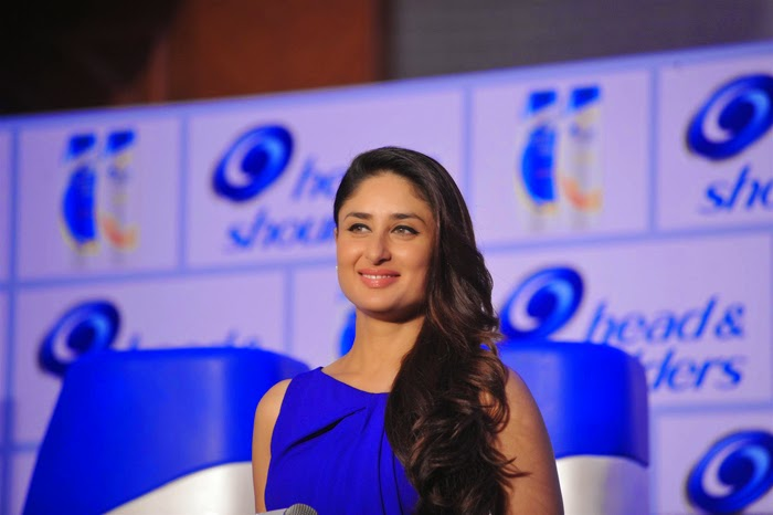 Kareena Kapoor Launch Head and Shoulders New Campaign Event