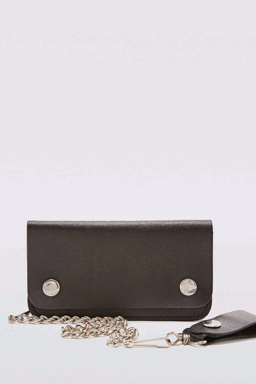 urban outfitters black purse chain
