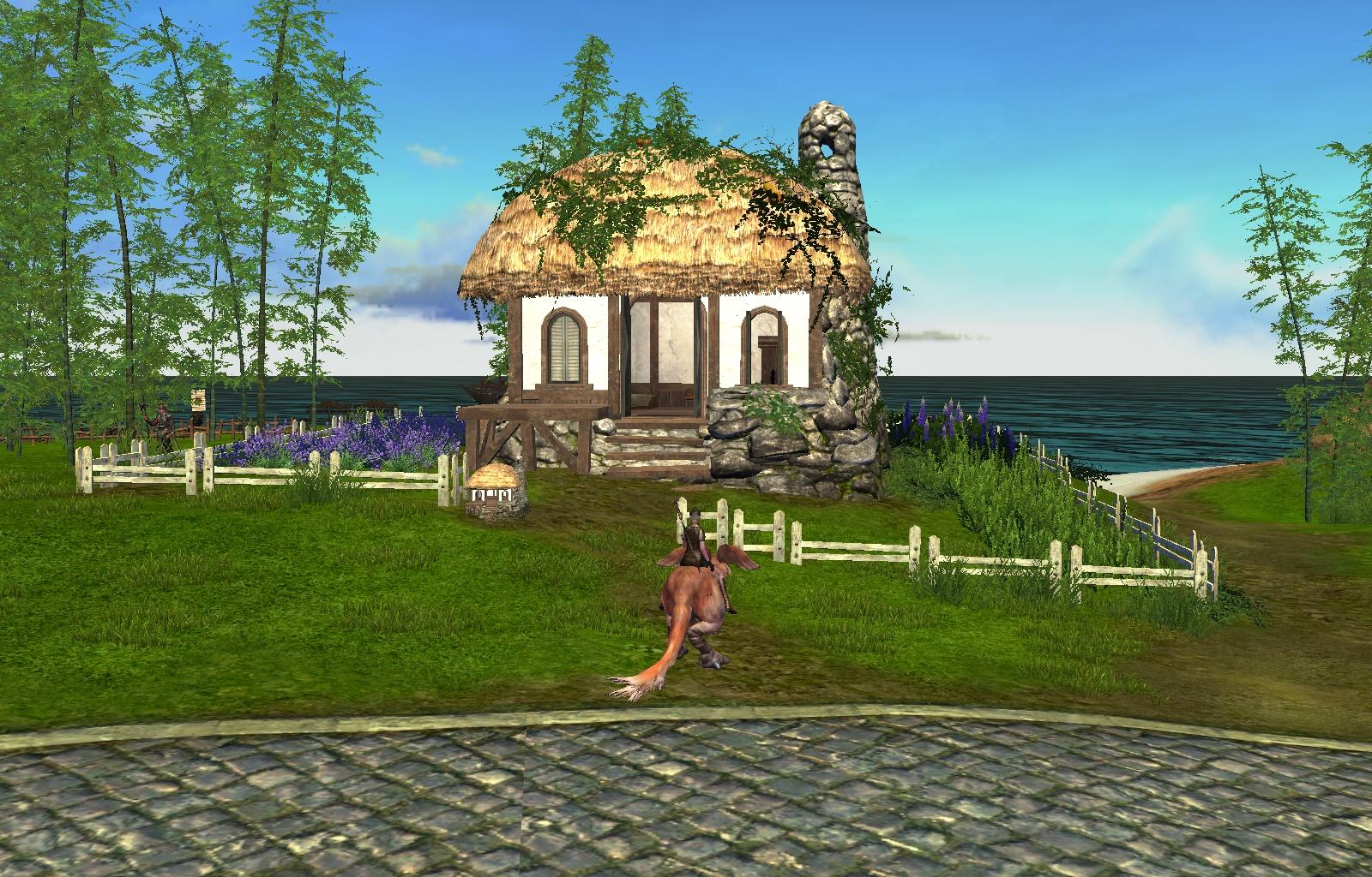 Archeage画像草屋根の農園
