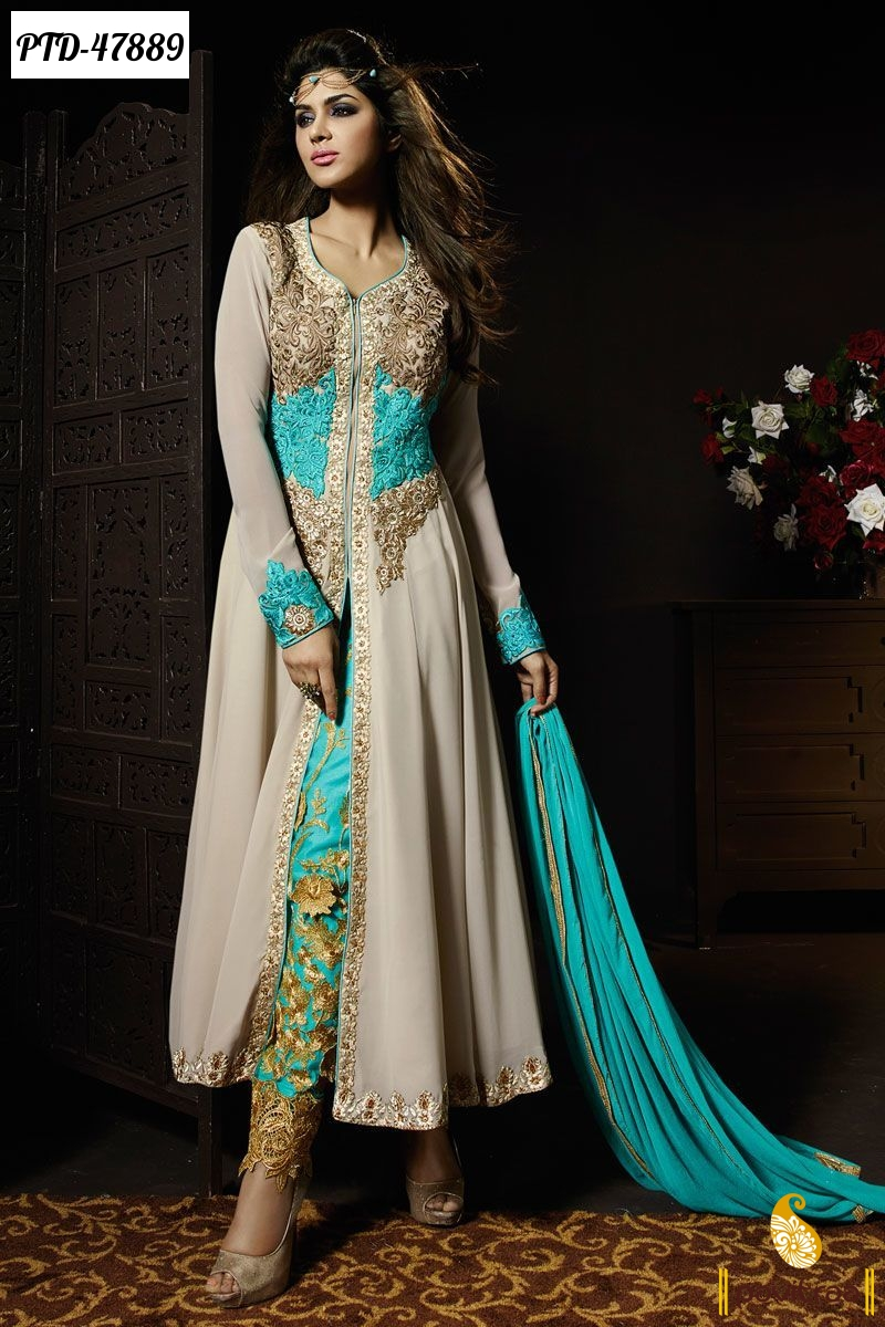 Latest 2016 Collection Of Anarkali Party Wear Salwar Suits