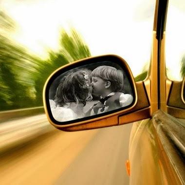 fotomontaje espejo