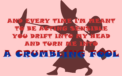 Crazy For You - Adele Song Lyric Quote in Text Image