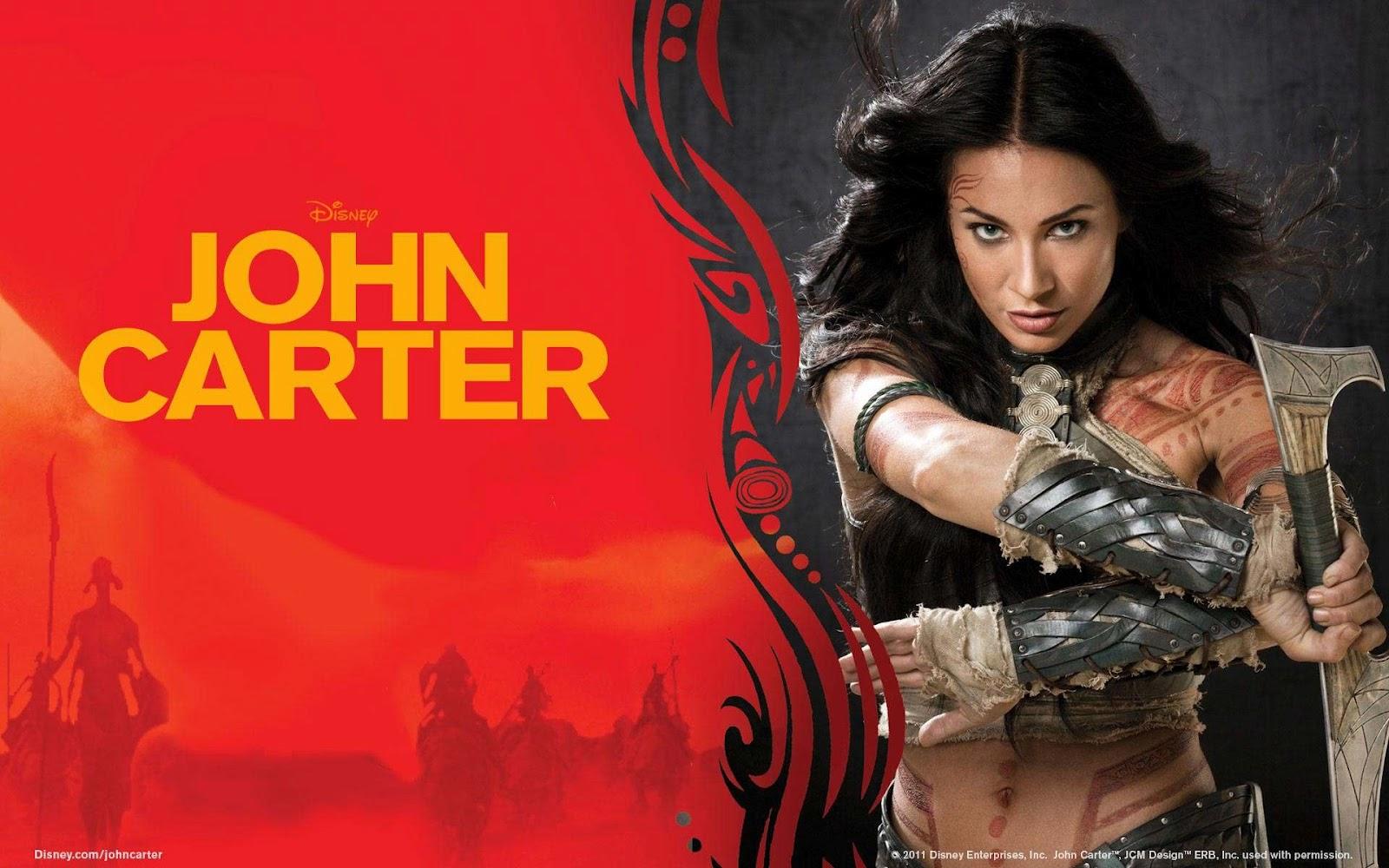 John Carter Tattoos John Carter From Mars