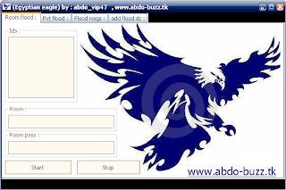 (Egyptian eagle) room flood , pvt room flood , add flood (Open source) New update add flood working Untitled