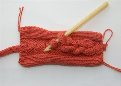 How to knit a volume braid cable