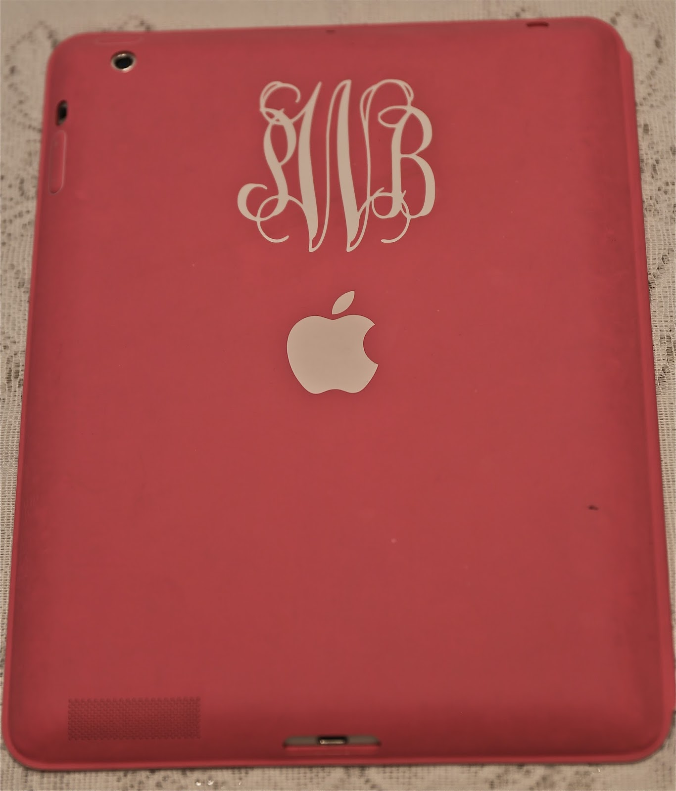 Sweet Southern Days: If It's Not Moving Monogram It