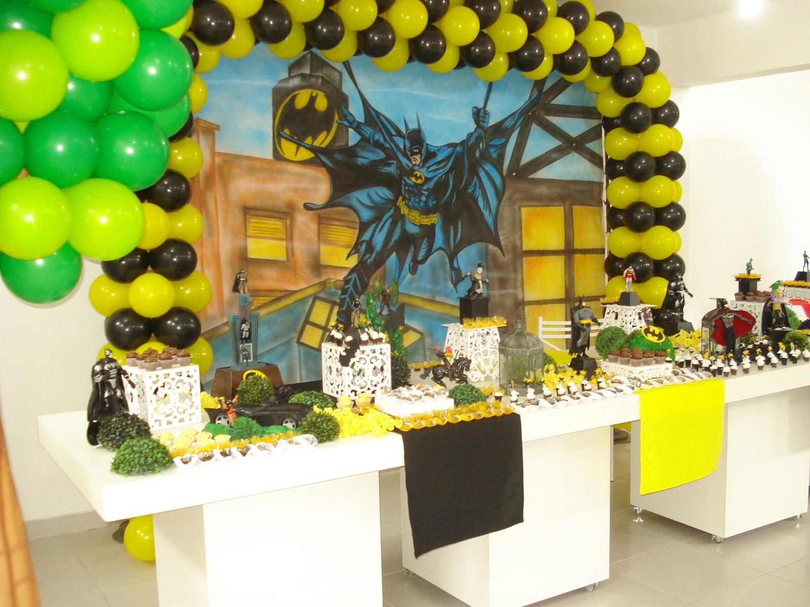decoracao festa batman: Ricardo Festas: Decoração Infantil – Batman – Raul & Ricardo Festas