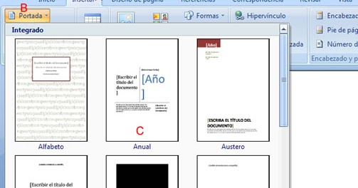 herramientas de word 2007: