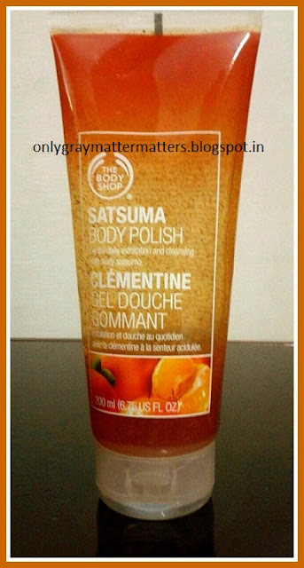 The Body Shop Satsuma Body Polish Review price india