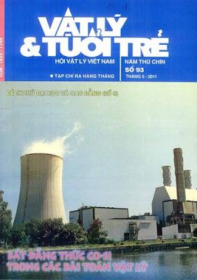 Tạp chí Vật lí Tuổi trẻ số 93 tháng 5- 2011
