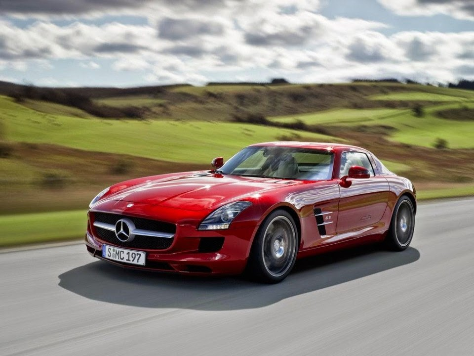 2014 Mercedes Benz SLS Wallpapers