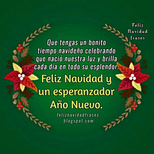 Feliz navidad frases que tengas un buen tiempo de navidad - Mensajes bonitos de navidad y ano nuevo ...