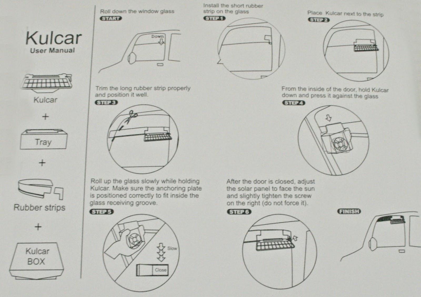 Kulcar, car cooler, solar car cooler, solar cooler, Kulcar solar car coole