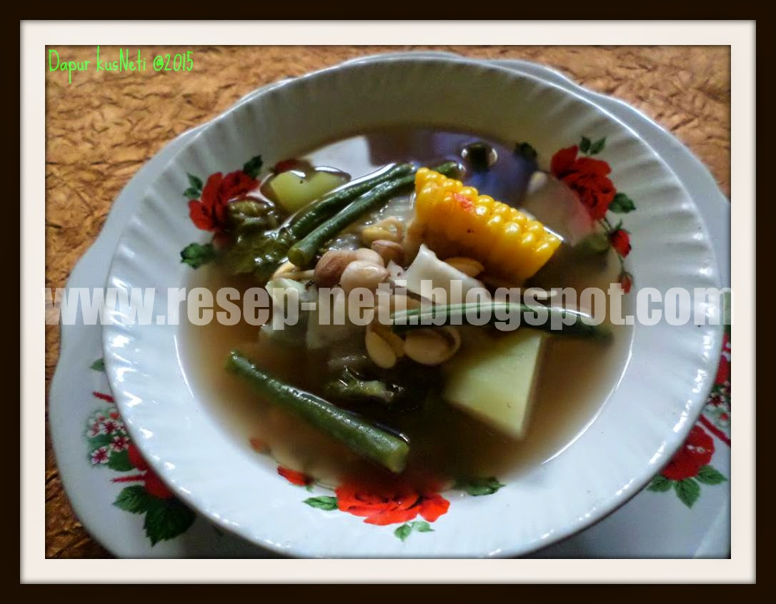 Sayur asem in kusNeti Kitchen @2015
