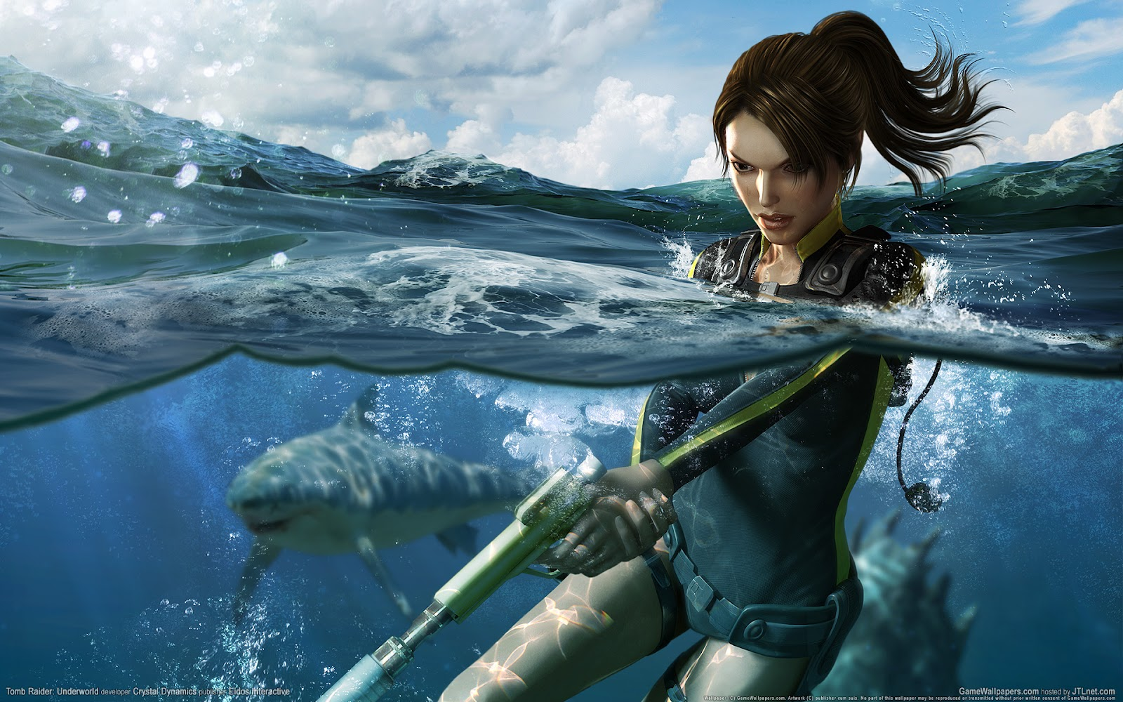 Tomb Raider HD & Widescreen Wallpaper 0.765734382265529