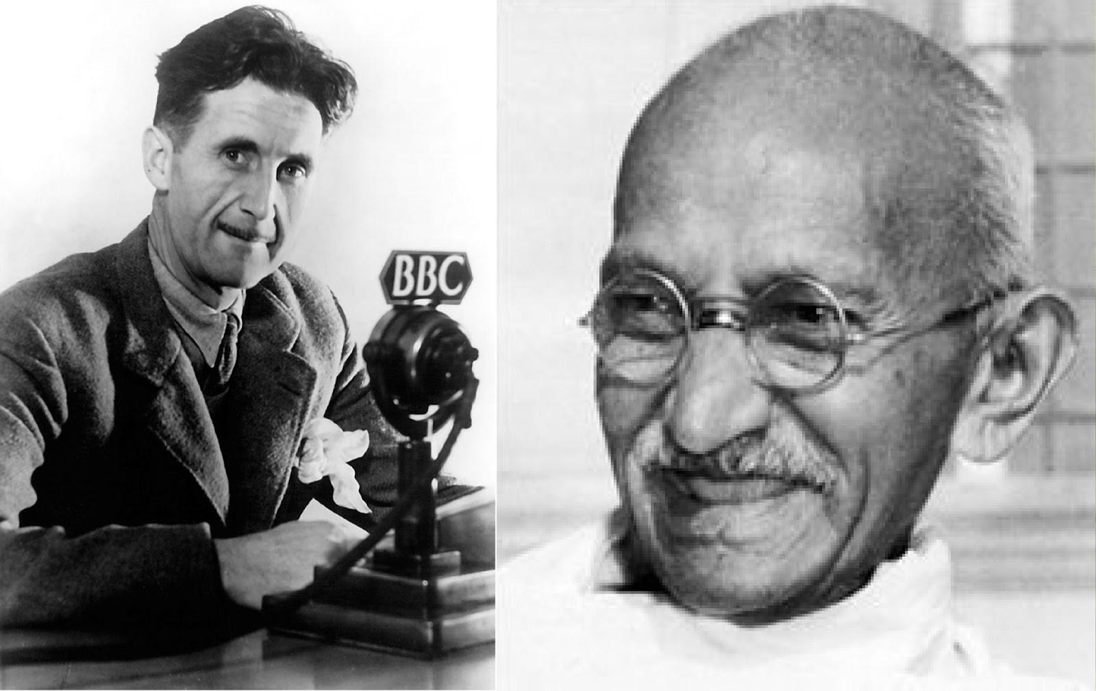 george orwell essay reflections on gandhi