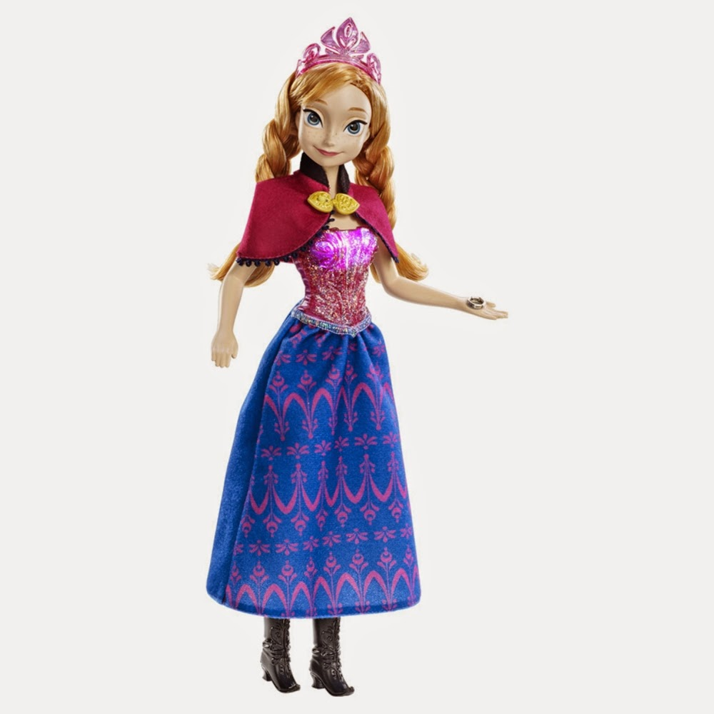 Gambar boneka anna frozen
